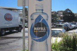 reuse plastic water bottles: NSW initiative