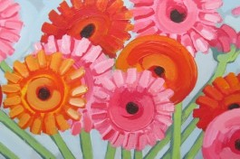 My Painting: Flowers from Holland
