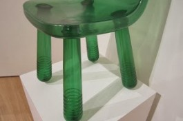 Marcel Wanders Amsterdam: plastic PET sparkling chair