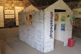 EXHIBITION: allwashedup in a hut 2011