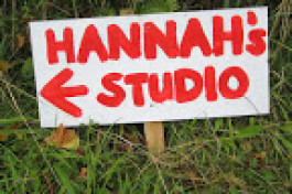 private view of hannah's studio