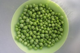 Harvest colour: pea greens