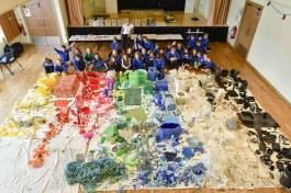 PLASTIC SEA: primary school arts event