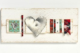 Artworks: Tartan Tin Hearts