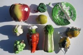 Ceramic Fruit + Veg Finds