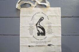 Kiama Pelican dies eating 17 plastic bags from our sea