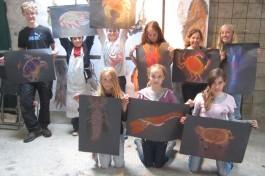 kids+youth workshops:arts festival 2014